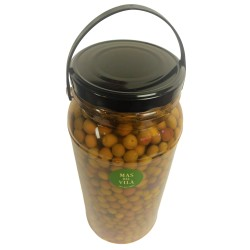 Olives in Brine, 3 kg.