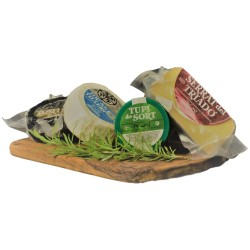 Artisanal Cheese Basket Selection